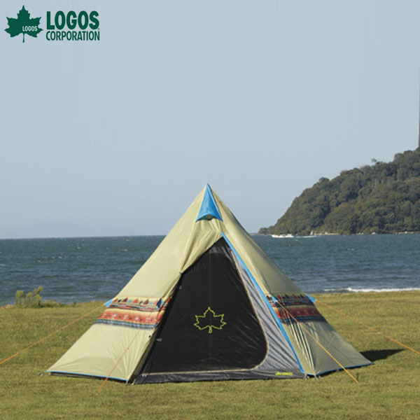 【送料無料】ロゴス(LOGOS) ナバホTepee 400 【D】【NW】【アウトドア キャンプ レジャー バーベキュー BBQ 芋煮 芋煮会 登山 ピクニック フェス】