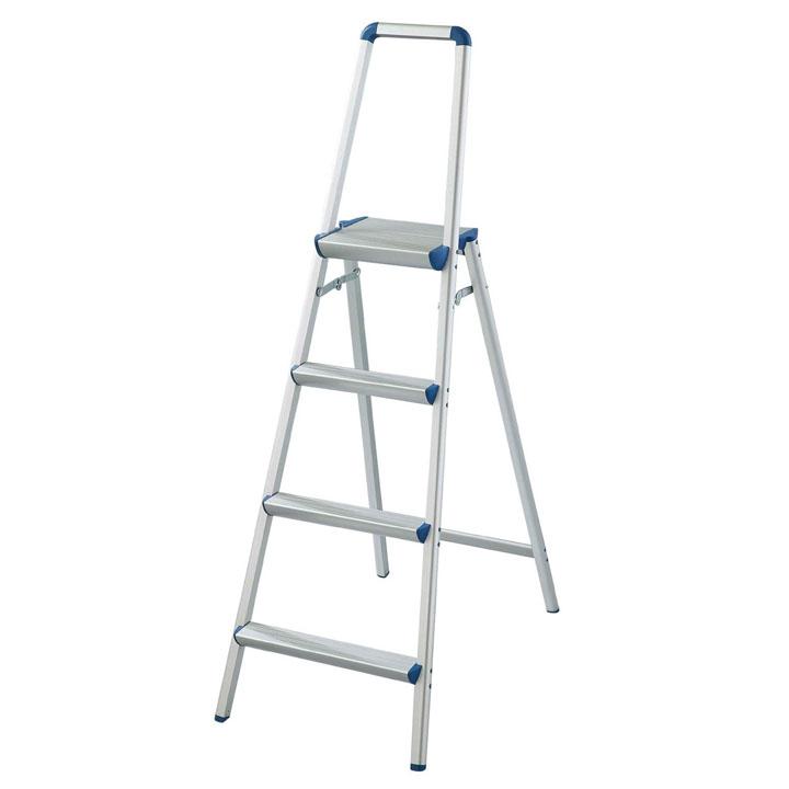 【5日限定★ポイント5倍】上枠付踏台 シルバー SREW-11送料無料 ステップ はしご 脚立 梯子 ステップ脚立 ステップ梯子 はしご脚立 脚立ステップ 梯子ステップ 脚立はしご 長谷川工業 【D】