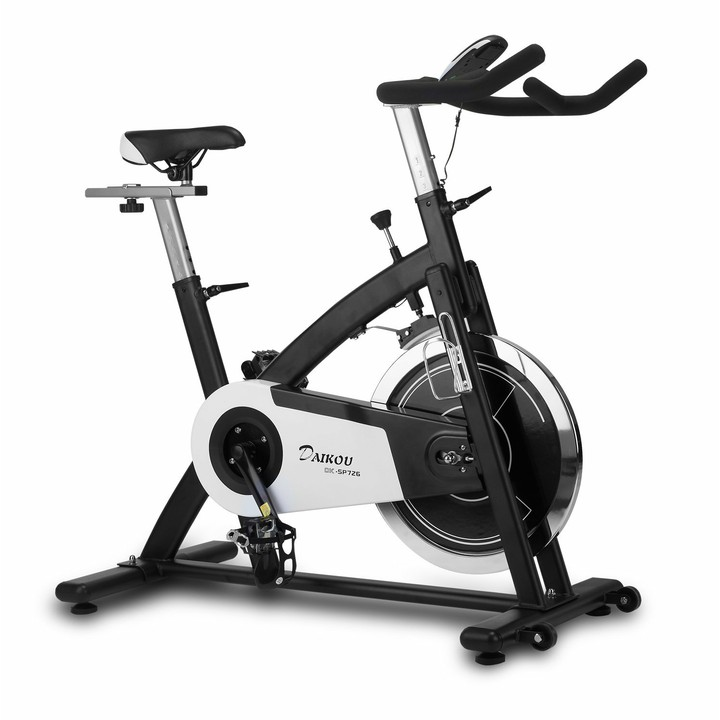 スピンバイク DK-SP726送料無料 フィットネスマシン エクササイズ 自転車 フィットネスマシンエクササイズ DAIKOU 【TD】 【代引不可】