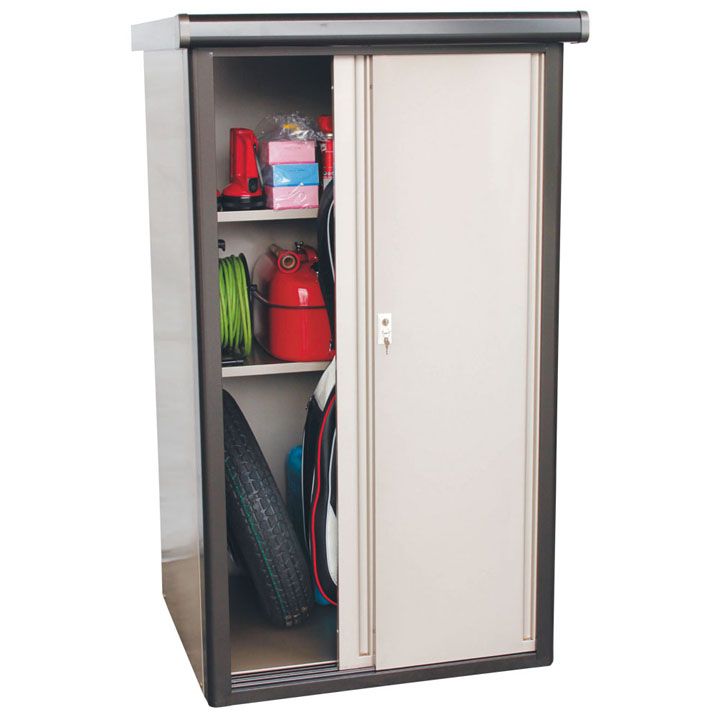 収納庫 ブロンズ DM2-0975送料無料 物置 収納庫 小型 屋外 家庭用 ダイマツ 【TD】 【代引不可】
