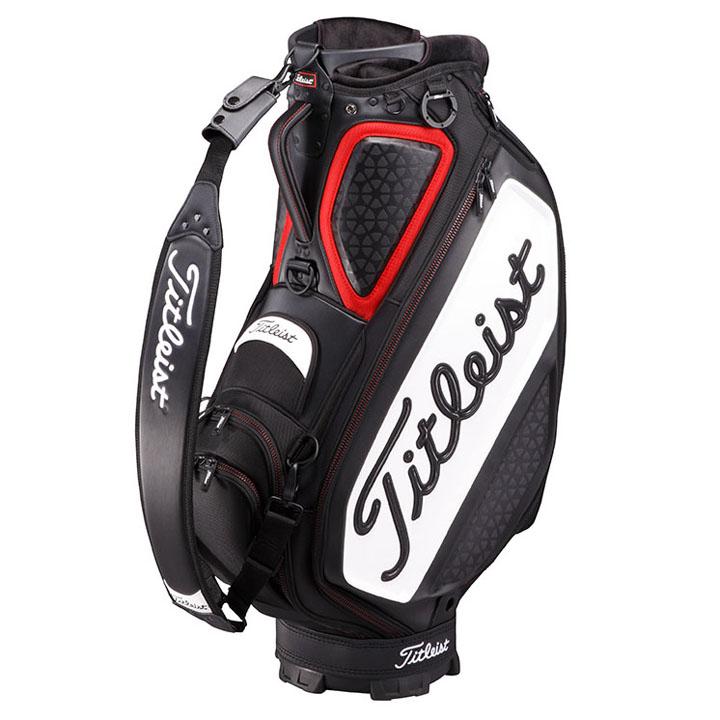 キャディバッグ ブラック/レッド TB7SF9-BKRD送料無料 キャディバッグ ゴルフバッグ 9.5型 ゴルフ タイトリスト Titleist 【D】