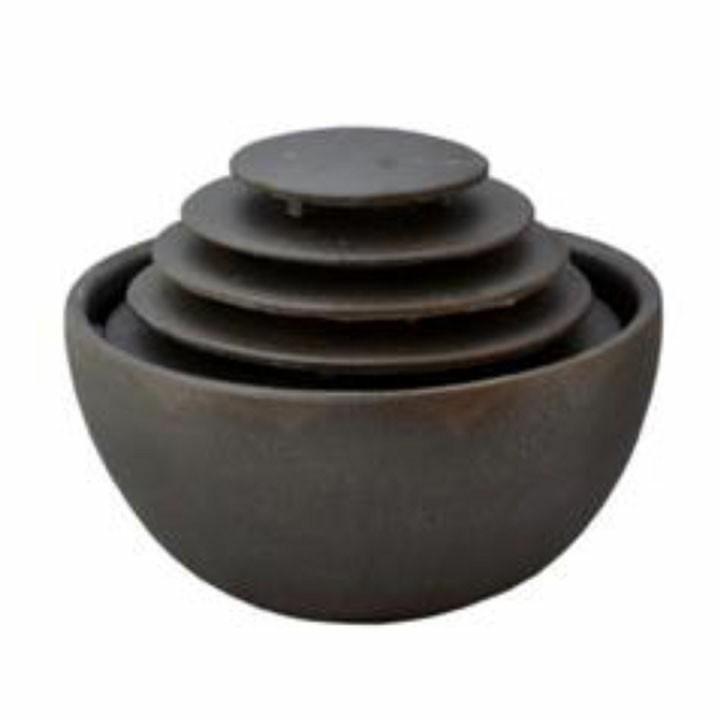 インテリア琴音ボール(屋内用) いぶし銀 EW200送料無料 自然音 すいきんくつ 和風 リラックス 癒し SAN-EI 【D】一人暮らし