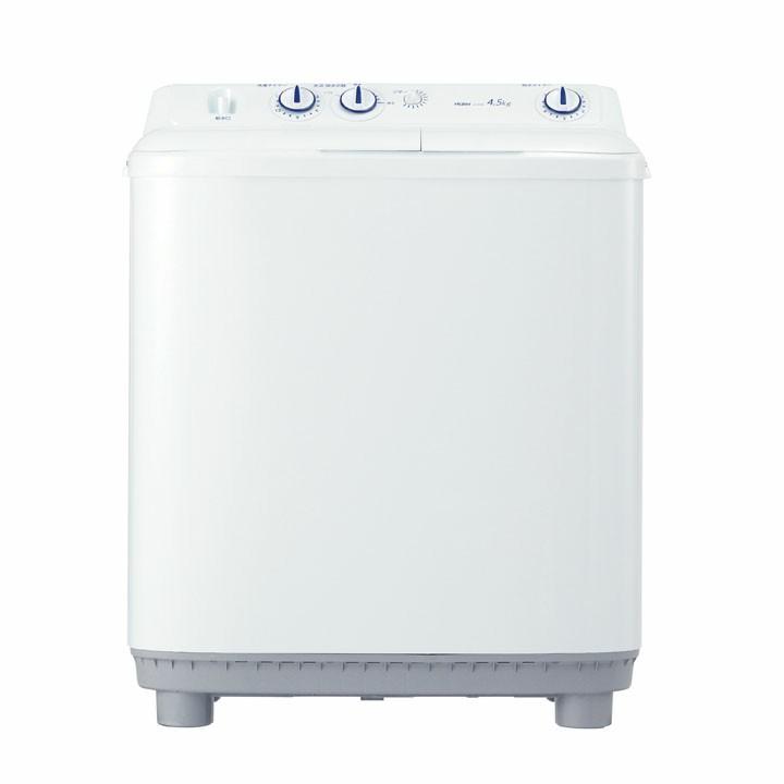 ハイアール 二槽式洗濯機4.0kg ホワイト JW-W45E送料無料 洗濯機 二槽式 2槽式 節水 時間短縮 排水切替 ハイアール【D】一人暮らし