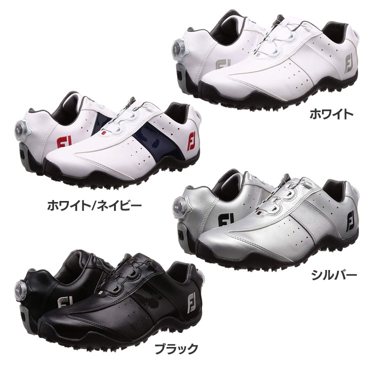 フットジョイ ゴルフシューズ18 EXL SL ボア 45180W 24.5~27.5cm送料無料 靴 シューズ FOOTJOY FJ GOLF ゴルフ用品 ゴルフ フットジョイ【D】【B】