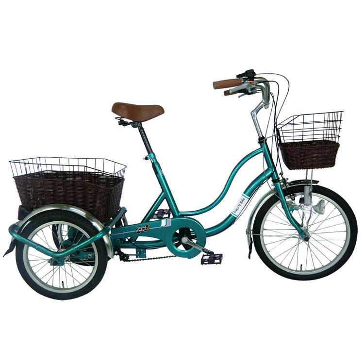 SWING CHARLIE2 三輪自転車G グリーン MG-TRW20G送料無料 自転車 ライト スイング 三輪 カゴ 緑 買い物 移動 お出かけ ミムゴ 【TD】【B】 【代引不可】 代引不可 同梱不可 日時指定不可