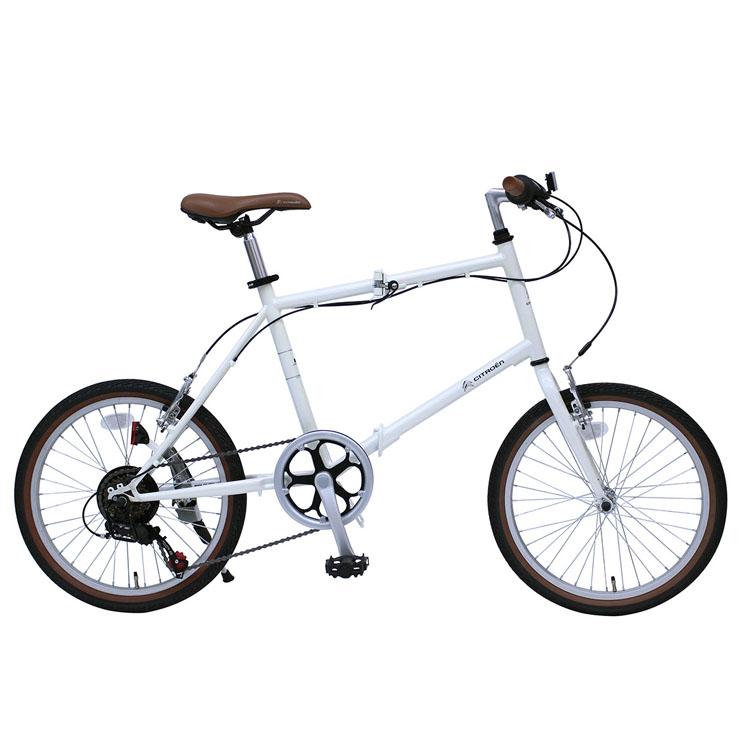 CITROEN FD-MINIVELO 206SG バニラホワイト MG-CTN206G送料無料 自転車 移動 シトロエン 折り畳み 白 コンパクト 通勤 通学 お出かけ ミムゴ 【TD】【B】 【代引不可】
