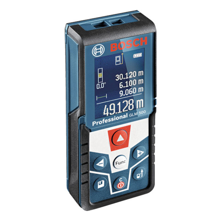 レーザー距離計 BL GLM500送料無料 ボッシュ DIY 工具 測定工具 簡単 コンパクト 軽量 ポケットに入る 液晶ディスプレイ カラー液晶 BOSCH 【TD】 【代引不可】