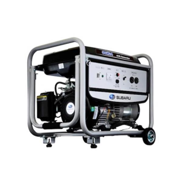 【アウトレット】SUBARUARV 発電機 SGH246 SUBARU AVR発電機キャリー付 60hz 発電機 発電 キャスター付き キャスター