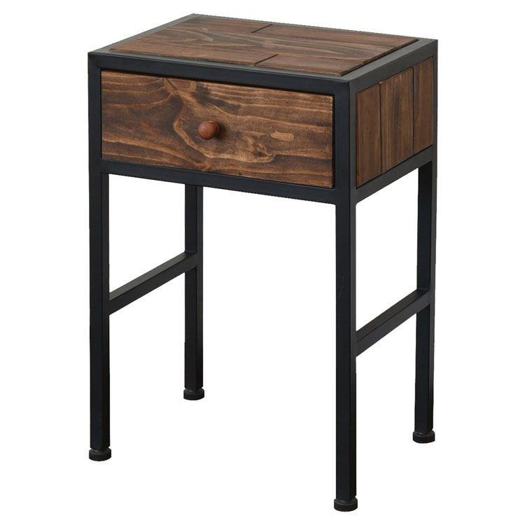 GRANT サイドテーブル GRST-375送料無料 ナイトテーブル ベッドテーブル ソファーテーブル サイドチェスト 木製 株式会社B.Bファニシング 【D】【B】