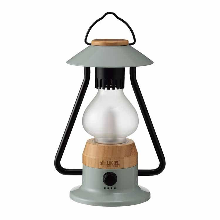 Bamboo モダーンランタン 74175015送料無料 LEDランタン USB蓄電 竹素材 暖色 スマホ充電 LOGOS キャンプ アウトドア ライト ロゴス 【D】【B】