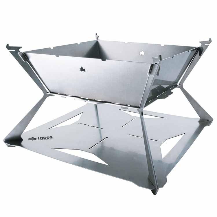 LOGOS Theピラミッドマスター 81064070送料無料 たき火台 ハイグレードモデル 囲炉裏 ステンレス 耐久性 LOGOS キャンプ アウトドア 日本製 ロゴス 【D】【B】