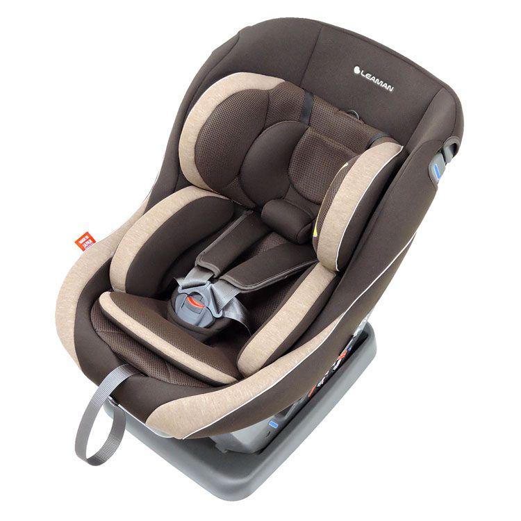 レスティロ3 メランジブラウン CD117送料無料 リーマン チャイルドシート 姿勢 ベビーシート 安心 新生児から LEAMAN 軽量 日本製 【D】