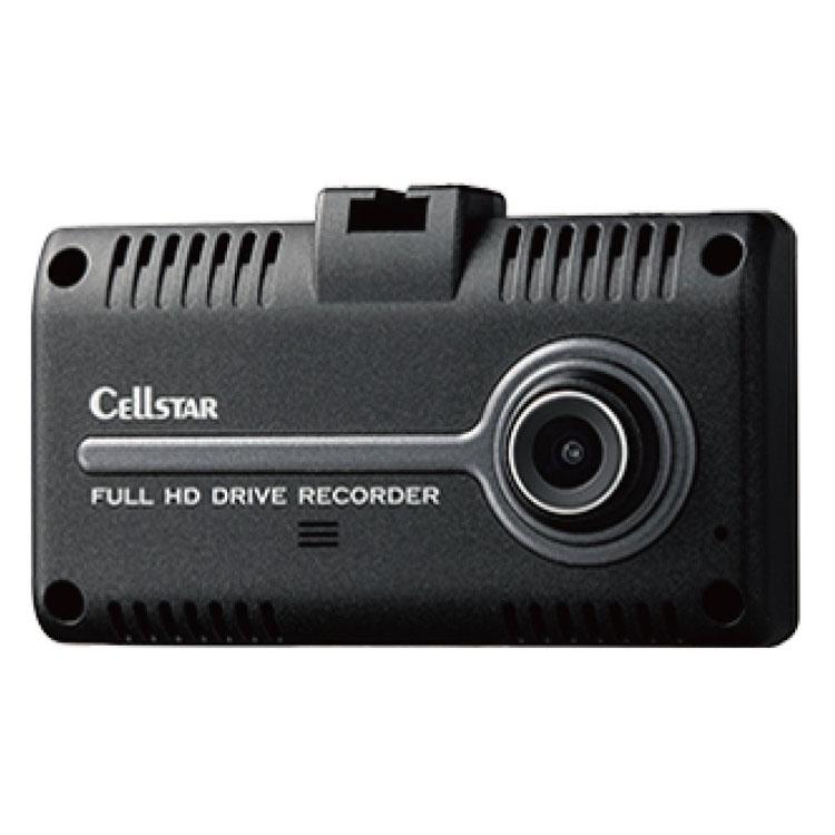 セルスター ドライブレコーダー ブラック CS-31F送料無料 ドラレコ カー用品 車 自動車 日本製 安全対策 録画 運転 CELLSTAR 【D】