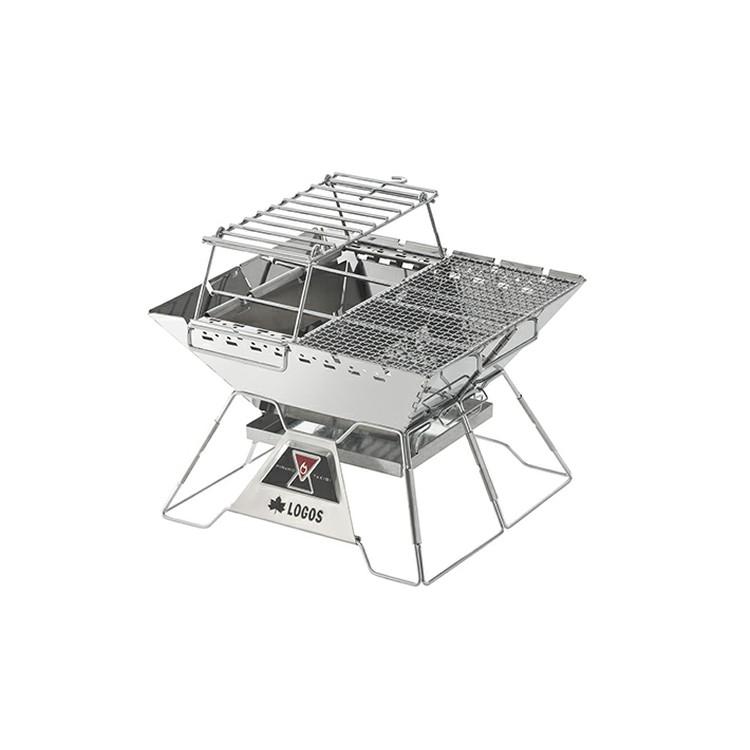 TheピラミッドTAKIBIコンプリート L 81064166送料無料 簡単 火台 BBQ 収納 アウトドア キャンプ ロゴス 【D】【B】