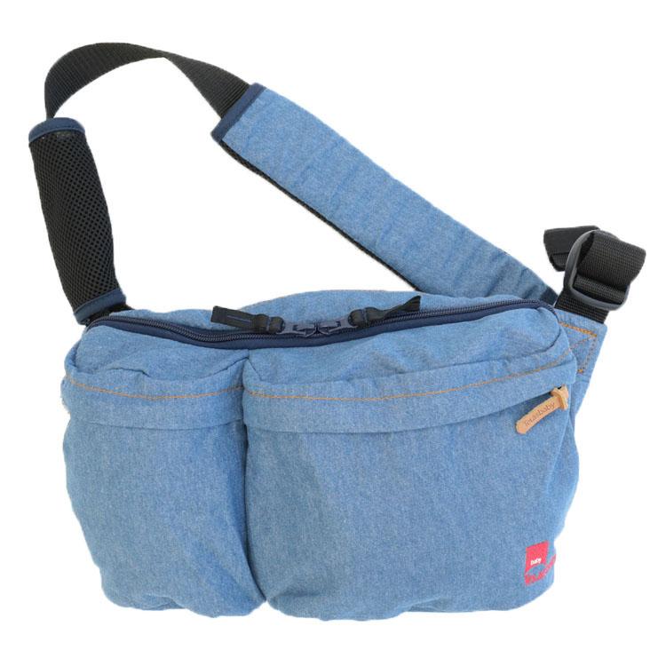 DaG5 Denim Collection ブルー 送料無料 ジャナジャパン テラスベビー ヒップシートキャリー 抱っこができるバッグ DaG5 ショルダーバッグ 一体型 たためる抱っこチェア ジャナ・ジャパン 【D】