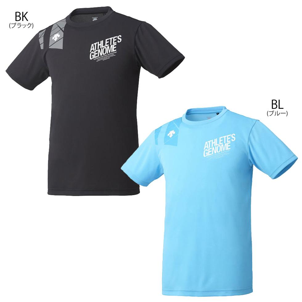 デサント メンズ ランニング 半袖 Tシャツ ドライ 吸汗 速乾 陸上競技 練習着 DRMNJA60