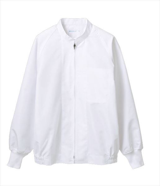 洗濯速乾に優れた、薄手の制電素材。 食品工場白衣 男女兼用 長袖 住商モンブラン 食品衛生管理システム MONTBLANC FOOD FACTORY RP8501