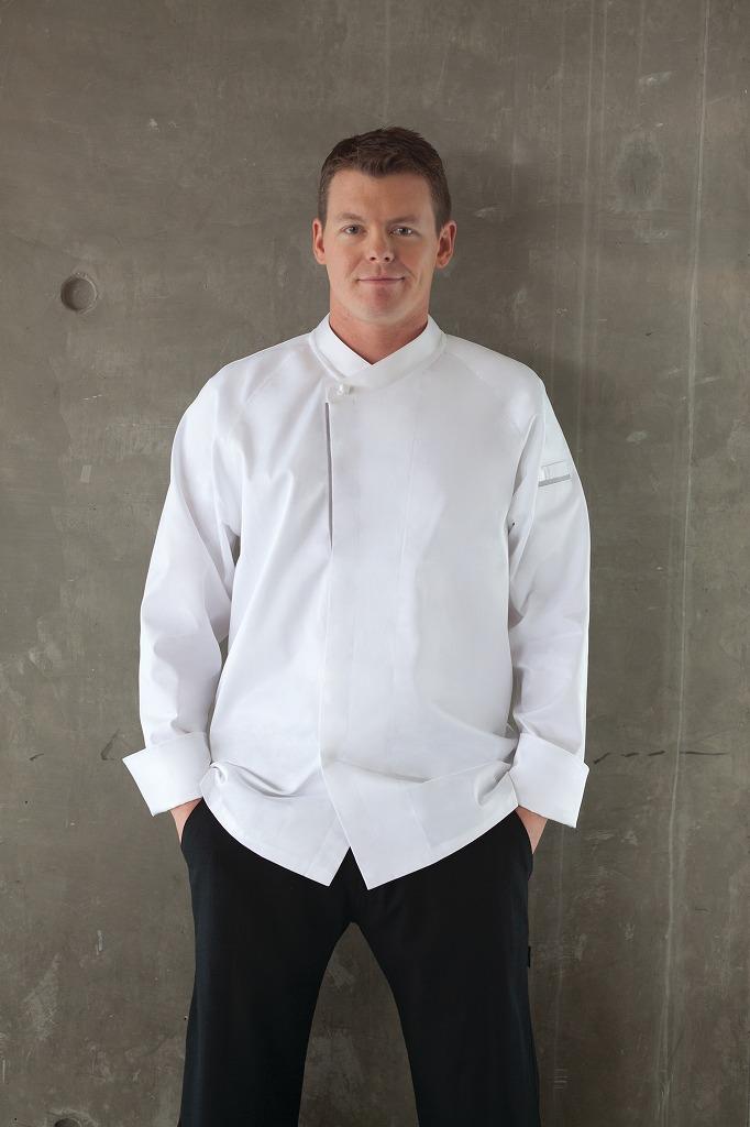 シェフワークス Chef Works コックコート シェフコート トリエスタ プレミアムコットン 男女兼用 長袖 ECRO