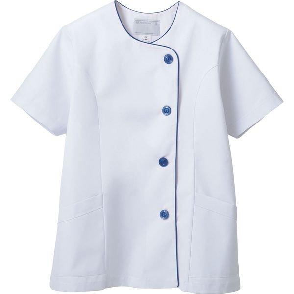 調理衣 半袖 レディース 白衣 厨房服 飲食 住商モンブラン MONTBLANC 1-044