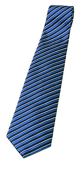 濃紺に白の大きなピッチのストライプ ネクタイ MAC-032 サーヴォ 正規取扱店 男女兼用 評価