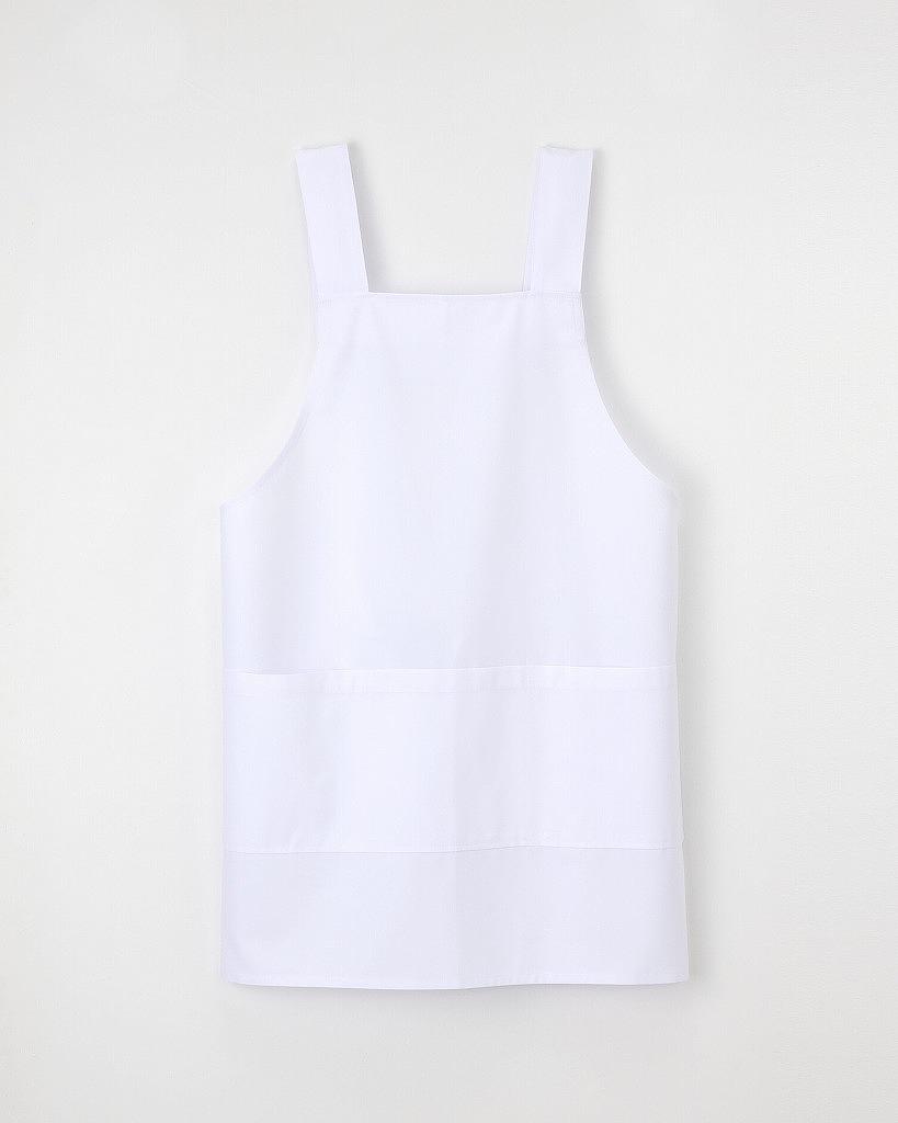 大きなポケットが特徴 ナガイレーベン エプロン 蔵 白衣 医療 KEX1100 ショート丈 直営ストア 男女兼用 介護