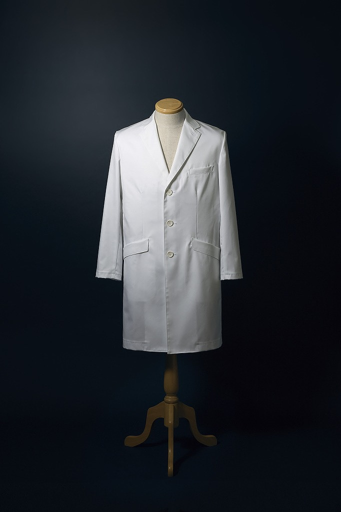 ナガイレーベン ドクターコート 白衣 診察衣 医療 メンズ シングル 長袖 FD4020