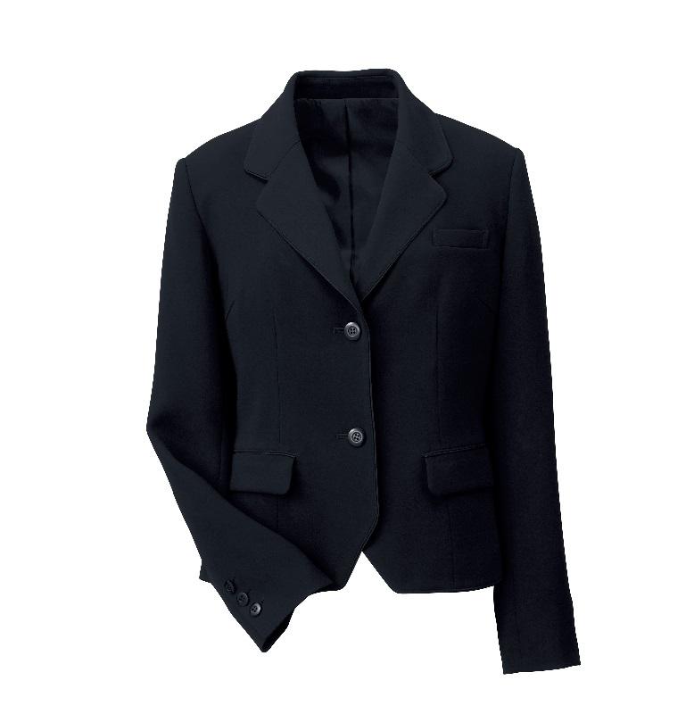 ジャケット WP160 長袖 レディース 7号~17号 ストレッチ 高級感 受付 接客 レセプション ハネクトーン HANECTONE