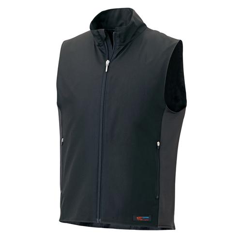 AITOZ アイトス ホットピア AZ-8302 スタンド衿ベスト+バッテリーセット 防寒服 防寒着 作業服