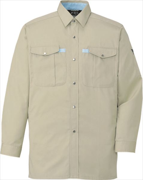 作業服 作業着 自重堂 401 ノンプル長袖シャツ
