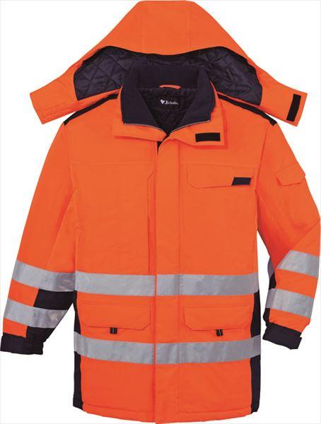 防寒着 高視認防水防寒コート 自重堂 Jichodo 48473 帯電防止JIS規格対応