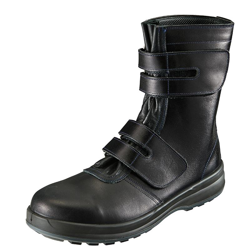 安全靴 8538 黒 作業靴 シモン