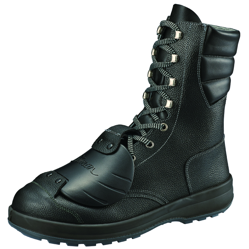 安全靴 SS33 黒 樹脂甲プロD-6 作業靴 シモン
