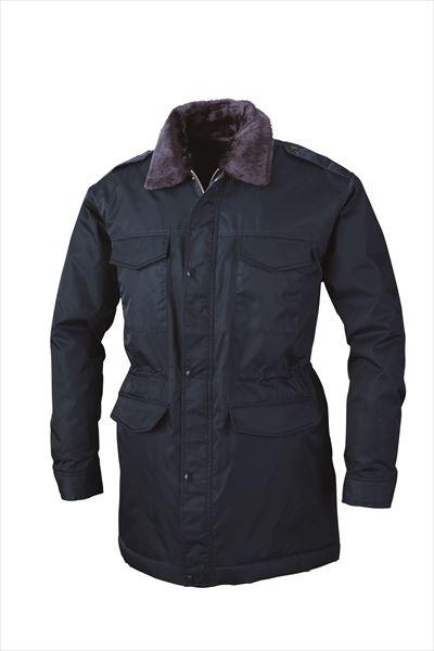 ジーベック XEBEC 18400 警備 防寒コート 通年 秋冬用 メンズ 男性用 作業服 作業着 防寒服 防寒着 上着 ブルゾン ジャケット