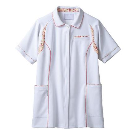【医療白衣】レディスジャケット(半袖) CHM052 アシックス