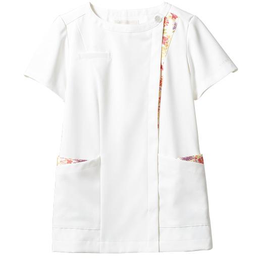 【医療白衣】ナースジャケット(半袖) LW601 ローラアシュレイ 住商モンブラン