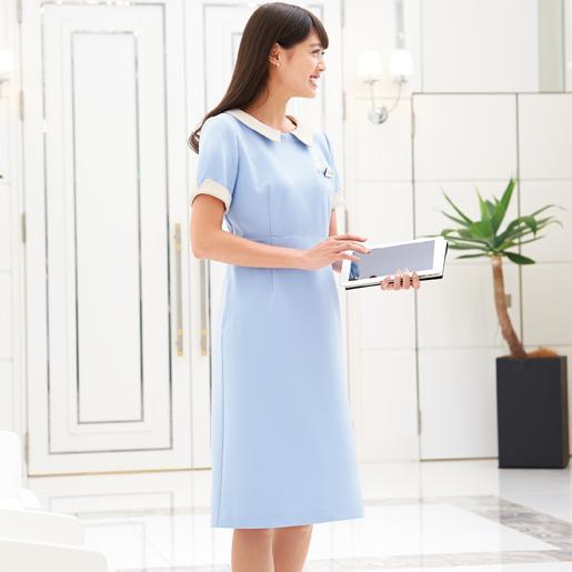 【事務服】ワンピース 7720 ハネクトーン早川