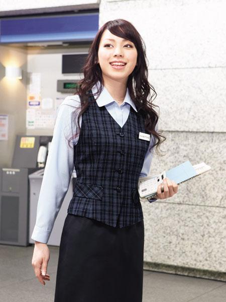 【事務服】ベスト 8785 オールシーズン ハネクトーン早川