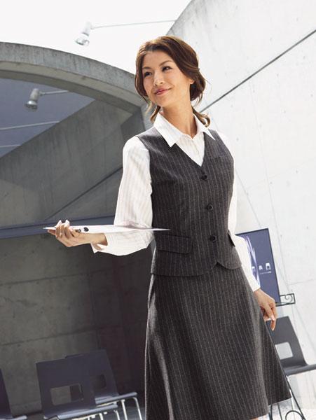 【事務服】ROPE スカート R851 オールシーズン ハネクトーン早川