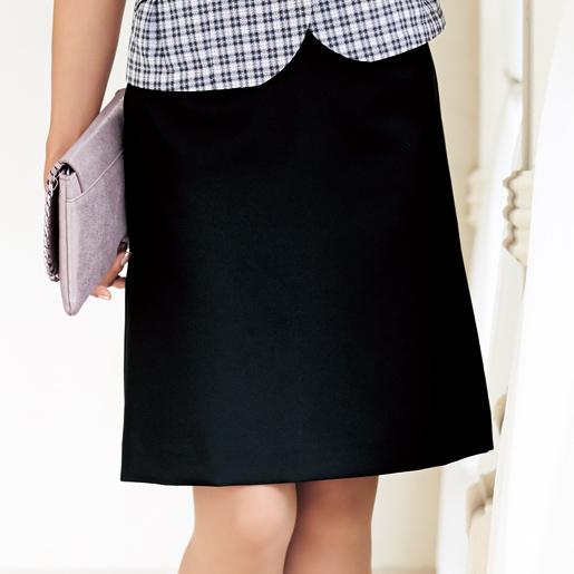 【事務服】美形スカート:Aライン SS609S 春夏用 神馬本店