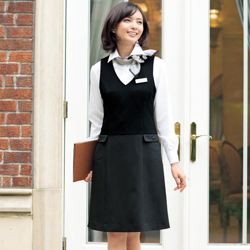 【事務服】ジャンパースカート 61450 アンジョア