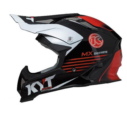 KYTヘルメット STRIKE EAGLE ストライクイーグル K-MXシリーズ ブラック/レッド KYT ケーワイティ SG規格 MFJ公認 YJEA0006