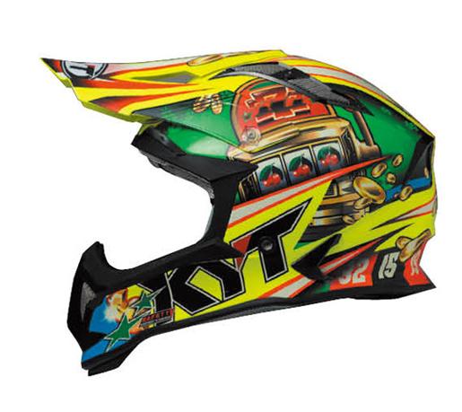 KYTヘルメット STRIKE EAGLE ストライクイーグル ルーレット KYT ケーワイティ SG規格 MFJ公認 YJEA0007