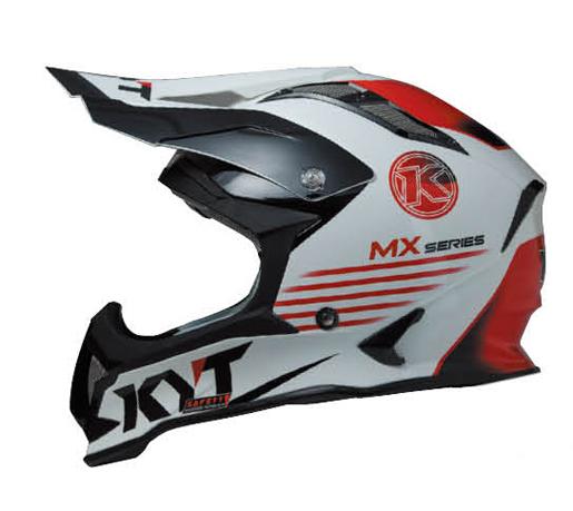 KYTヘルメット STRIKE EAGLE ストライクイーグル K-MXシリーズ ホワイト/レッド KYT ケーワイティ SG規格 MFJ公認 YJEA0008