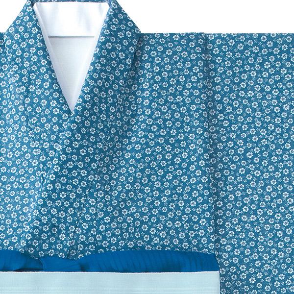 和服きもの 絽小紋 女性着物 K-3683 小花 フードサービス 旅館 中居 料亭