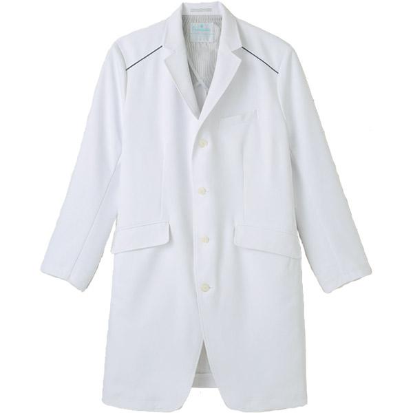 医療白衣 男性用ドクターコート XM-001 ラチネダブルクロス プリムヴェール 送料無料