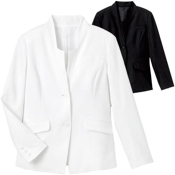 おもてなしにふさわしい、きちんと感のジャケットがステキ! スタンドカラージャケット WP156 東レ裏綿トリコット カウンタービズ