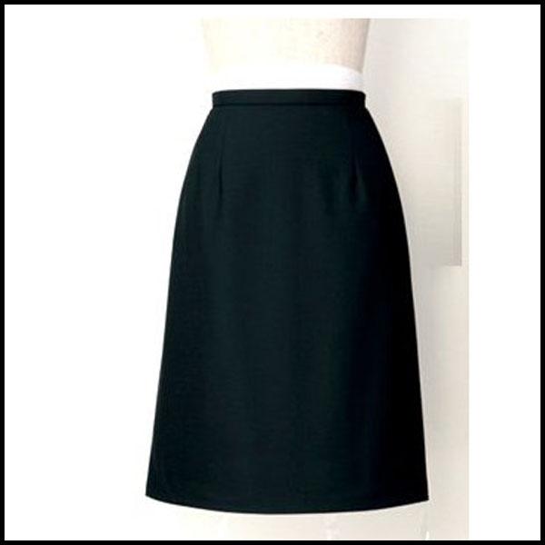 Aラインスカート(53CM丈) オフィス 事務服 /CRE 【領収書 発行 可能】 カード分割 02P03Dec16