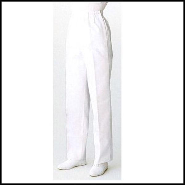 登場大人気アイテム FH-1109 3L~6Lサイズ ホワイト 白女性用パンツ SAA サンペックスイスト 領収書 発行 格安店 調理衣 可能