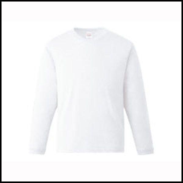 1枚メール便OK 業務用 ユニフォーム 兼用 いよいよ人気ブランド 高品質 長袖 00159-HGL XS~XL Tシャツ 02P03Dec16 ハイグレード カード分割 白