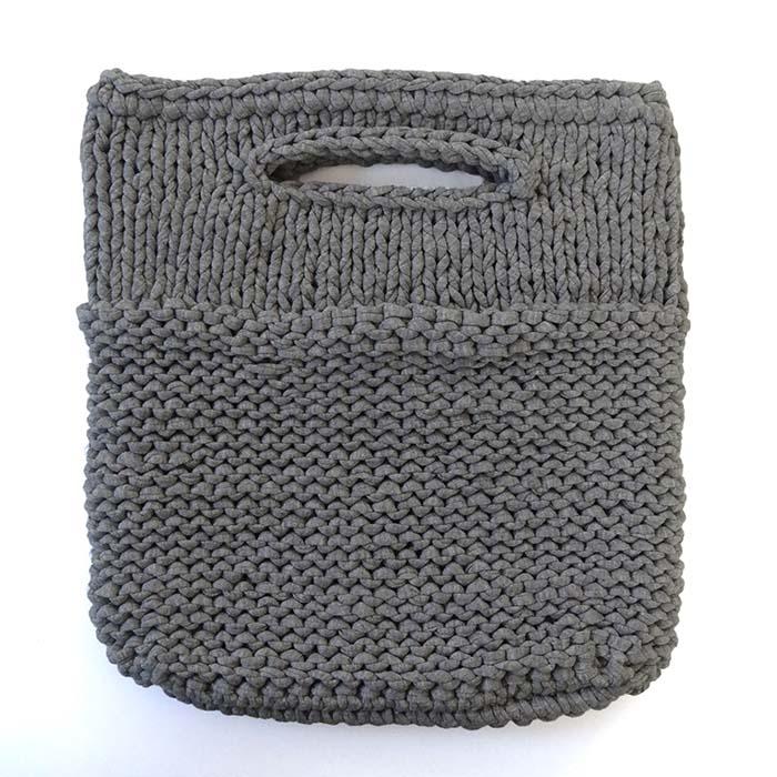 ジャージー生地を編んだコンパクトなバッグ ジャージークロシェ タイニーバッグ 1つまでDM便選択可 新作からSALEアイテム等お得な商品満載 流行